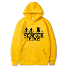 2019 Stranger Things Hooded Women Hoodies and Sweatshirts Oversized Hip Hop Autumn Winter Hoodie harajuku Trendy Faces Gothic stranger things 2019 new hip hop boy hoodie sweatshirt men women sweatshirts oversized hooded autumn winter hoodies pullover