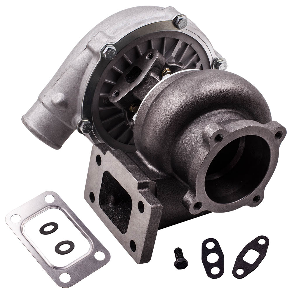 Top GT30 GT3037 GT3076 4 bolts Flange A/R 0.6 0.82 Water Cool Turbocharger 500HP|t3 flange - title=