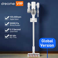 Dreame V9P Handheld Cordless Vacuum Cleaner Portable Wireless Cyclone Filter Carpet Dust Collector 20KPa Sweep Clean for xiaomi