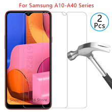 case for samsung a10 a10s a10e a20 a20s a20e a30 a30s a40 a40s cover tempered glass on galaxy a 10 20 30 40 s 10s 20s 30s 40s 9h(China)