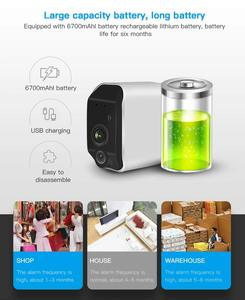 Image 4 - CTVISON wireless battery camera battery powered wifi camera with sd card outdoor ip wifi 1080p pir security surveillance