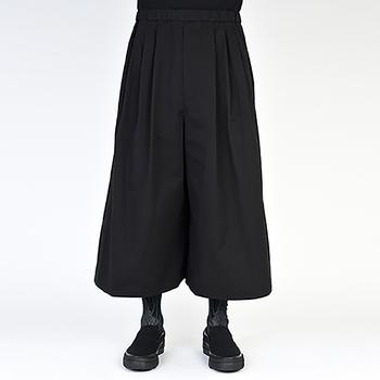 Codzienne męskie spodnie szerokie nogawki spodnie spódnica spodnie minimalizm bardzo luźny moda męska moda młodzieżowa nowa moda miejska tanie i dobre opinie IKKB Proste Pełnej długości