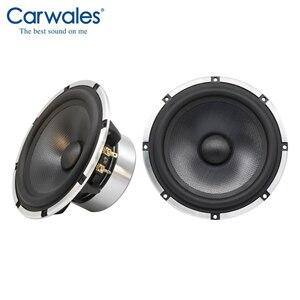 """Image 2 - Kit de haut parleurs pour voiture, système sonore 3 voies 6.5 """", 3.5 pouces, mi portée, triple, fréquence complète, Kit haut parleurs, caisson de basses pour voiture"""
