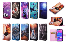Fashion Wallet Flip Case Voor Samsung Galaxy S10 S9 S8 J4 J6 Plus A7 2018 A20 A30 A40 A50 A70 m30 M10 M20 Lederen Telefoon Tas Coque