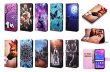 Ví thời trang Dạng Flip Case Dành Cho Samsung Galaxy Samsung Galaxy S10 S9 S8 J4 J6 Plus A7 2018 A20 A30 A40 A50 A70 m30 M10 M20 Da Túi Điện Thoại Coque