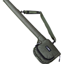 Canvas Fishing Rod Cover Tube Case Fly Fishing Rod Case Bag Water-resistant Fly