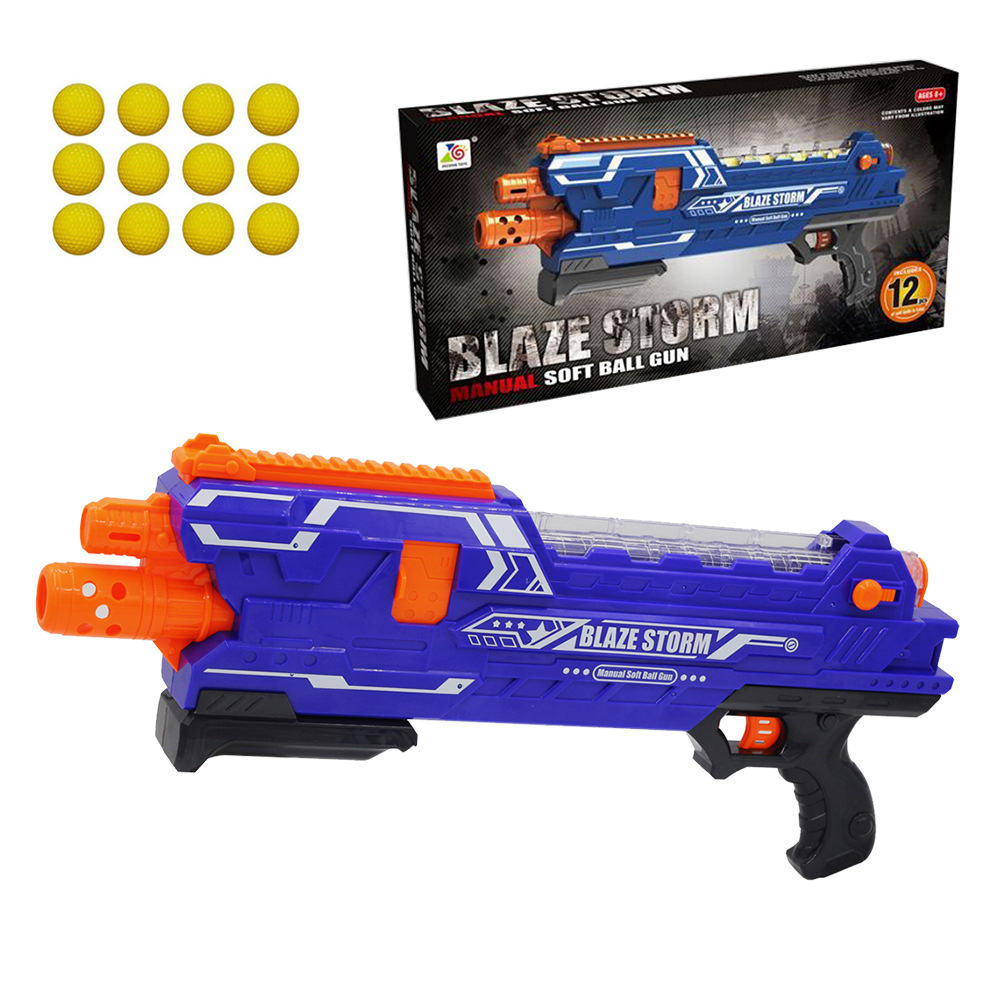 Manual Soft Bullet Gun Emission EVA Ball Gun Toy Gun