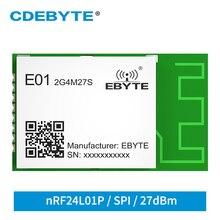 Wireless-Module Nrf24l01p CDEBYTE PCB LNA PA Antenna E01-2G4M27S 27dbm 2200m SMD On-Board