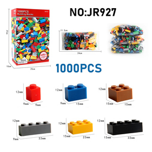 Image 2 - 1000PCS DIY Building Blocks Figures Educational Creative Compatible With brands bricks Toys for Children Kids Birthday Gift