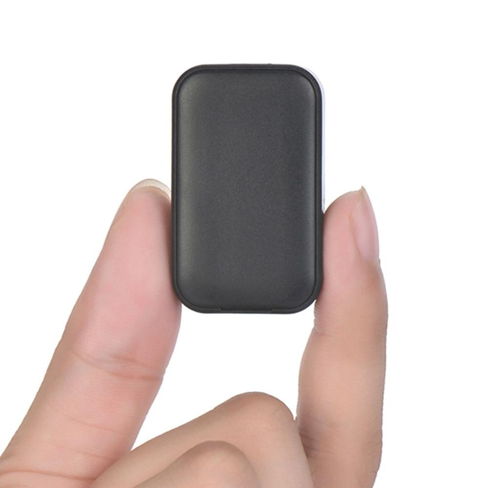 Gw07 Mini Gps Tracker Wifi + Base Station Positioning Sos Phone For Help 400Mah Apple Android App Web Tracking Tracker image
