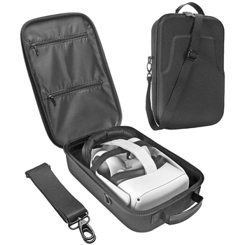 New EVA Hard Case for Oculus Quest 2 Case, VR Gaming Headset Storage Box, Virtual Reality Travel - discount item  20% OFF Portable Audio & Video