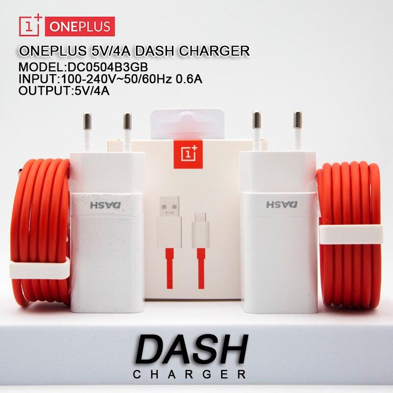 Chargeur de tableau de bord Original 6T, câble de Charge rapide 5V/4A 1M, USB type-c, adaptateur de prise de courant murale pour One Plus 7 6T 5T 5 3T 3T 3