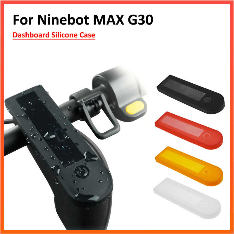 Central Control Panel Silicone Cover for Ninebot MAX G30 Electric Scooter