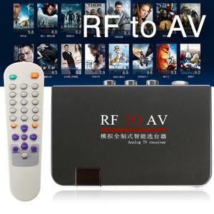 Image 2 - TV Receiver Easy Operation Analog Modulator Home Use Converter RF To AV Stable Signal High Efficiency  Satellite TV Receiver