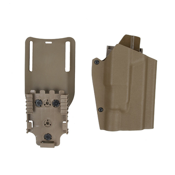 TMC Belt Holster Quick Release Holster Set for G17+X300 Series Headlights - Tan