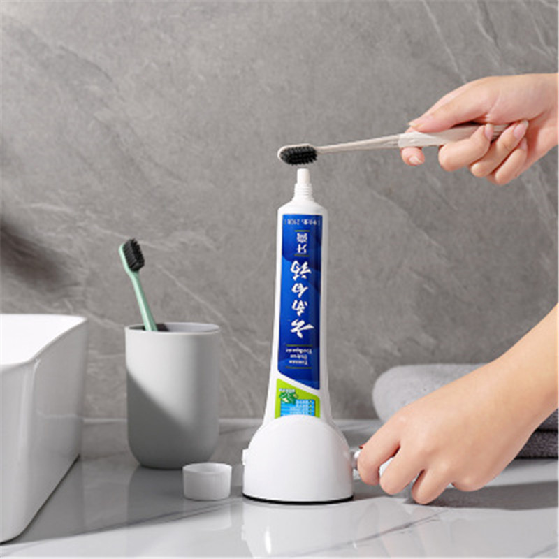 Manual Lazy Toothpaste Dispenser Tube Squeezer ABS Squeezing Tools Facial Cleanser Cosmetic Paint Squeezer Tube Wringer 1pc
