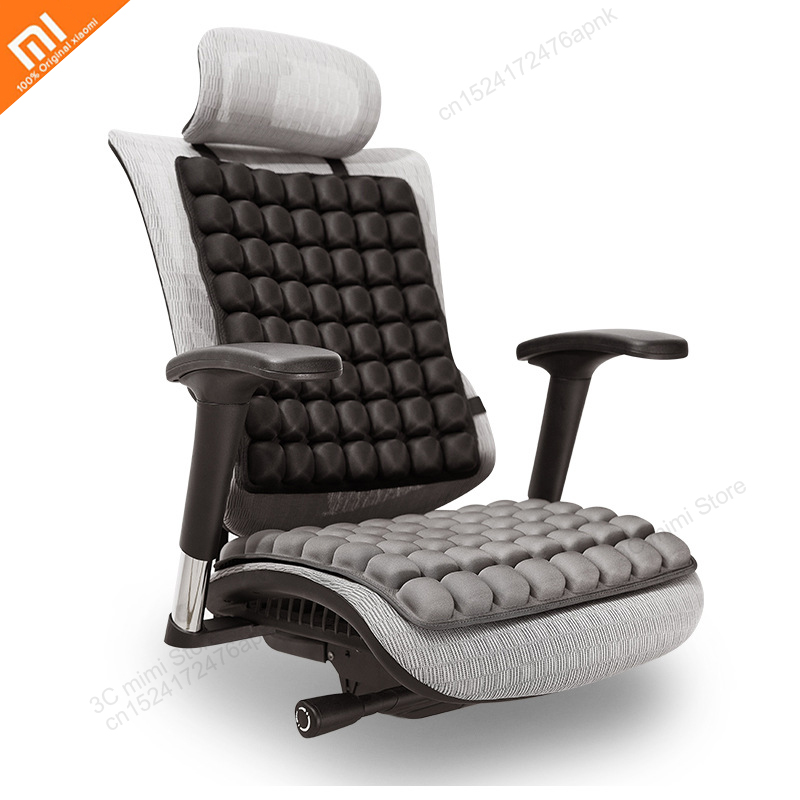 Xiaomi INNERNEED airbag cushion back cushion 3D relaxation decompression massage office car seat cushion cushion hip image