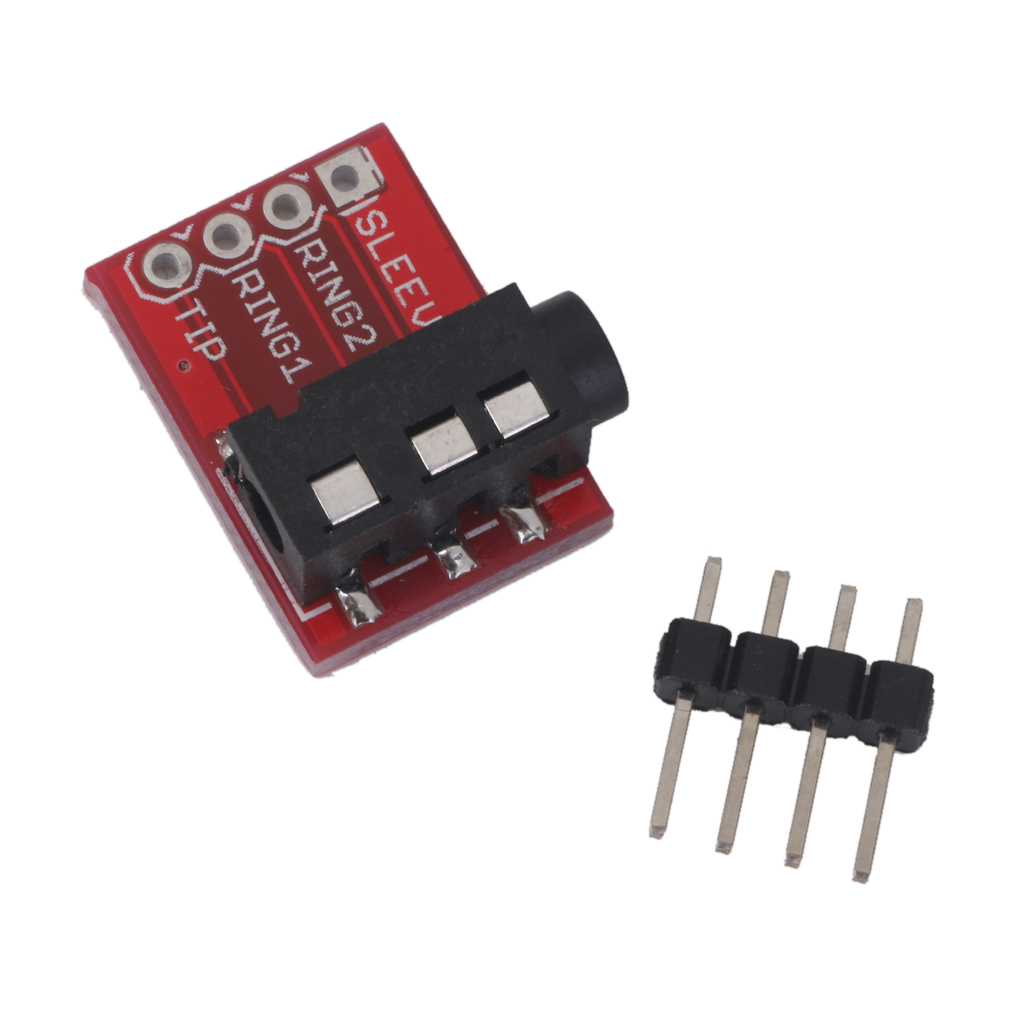 5Pcs TRRS 3.5mm Plug Breakout Board Headset Stereo For AUDIO MP3 Socket