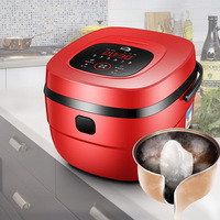 5L smart rice cooker safty rice container food warmer kitchen appliances electric Non Stick Coating Inner Pot