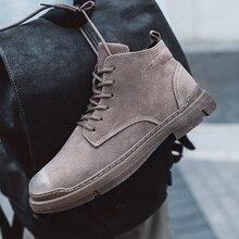 Модная мужская обувь высокого качества; Мужская обувь martin; мужские кроссовки; Рабочая обувь