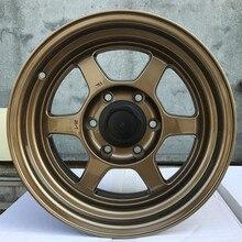 Auto rodas de liga leve de carro jantes forjadas de carcaça de pneus do veículo para HONDA TOYOTA KIA carros de corrida TE37 16