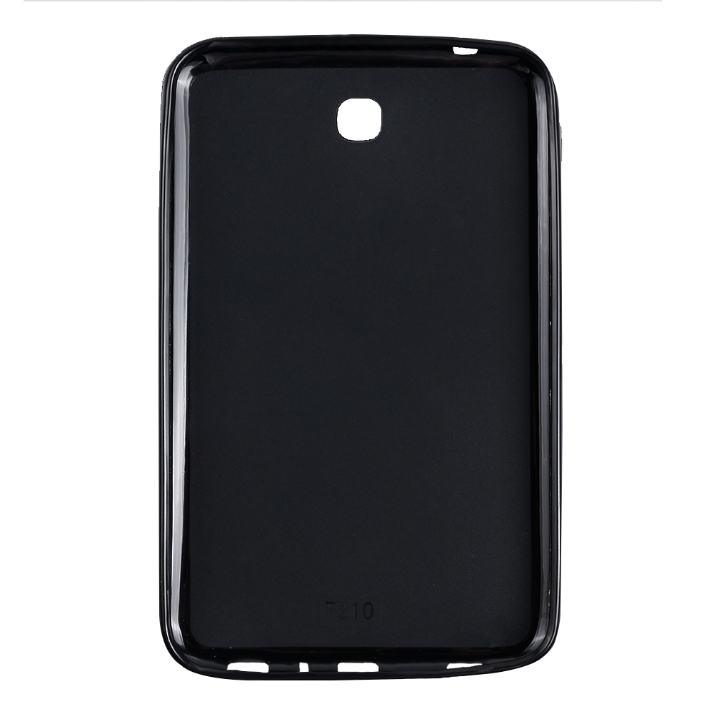 QIJUN tab3 7.0 Silicone Smart Tablet Back Cover For <font><b>Samsung</b></font> <font><b>Galaxy</b></font> <font><b>Tab</b></font> <font><b>3</b></font> 7.0inch SM-T210 <font><b>T211</b></font> T215 P3200 Shockproof Bumper Case image