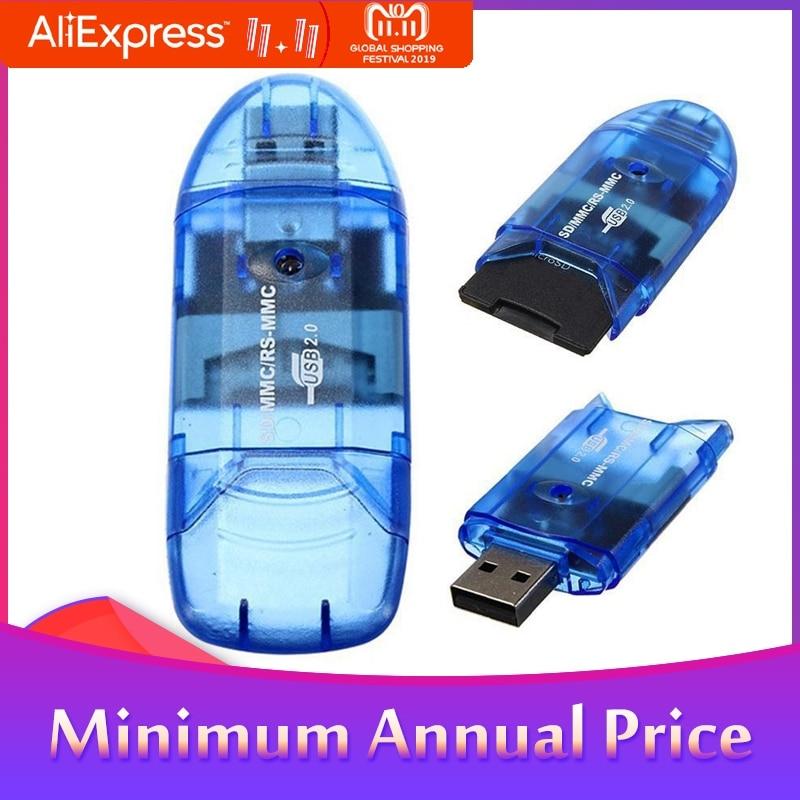 High Speed Mini Micro SD T-Flash TF SDHC USB 2.0 Memory Card Reader Adapter R20