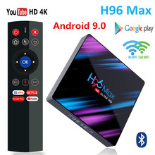 H96 MAX 9.0 Android TV Box Rockchip RK3318 4G Ram 32GB 64GB