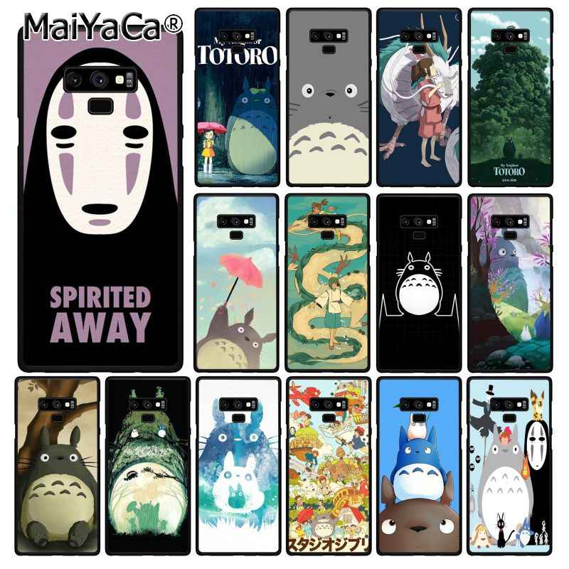 Maiyaca Cute Spirited Away Ghibli Miyazaki Anime Phone Case untuk Samsung Galaxy A50 A70 A20 A30 Note9 8 Note7 note10 Pro