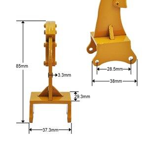 Image 5 - Full Metal Ripper Part For HUINA 1550 /580/592 1:14 RC Metal Excavator Metal Rock Ripper Part