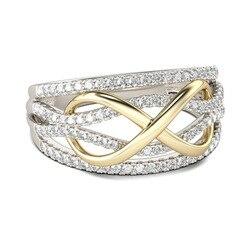 CC alyanslar kadınlar için lüks takı kübik zirkonya geometrik gelin nişan yüzüğü aksesuarları gümüş 925 yüzük erkek