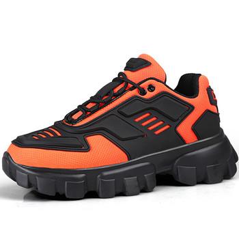 NEWDISCVRY Plus Size moda męska trampki 2020 styl lekkie oddychające buty męskie Casual Chunky trenerzy obuwie męskie tanie i dobre opinie Elastycznej tkaniny Przypadkowi buty Lace-up Pasuje prawda na wymiar weź swój normalny rozmiar Mokasyny Wiosna jesień
