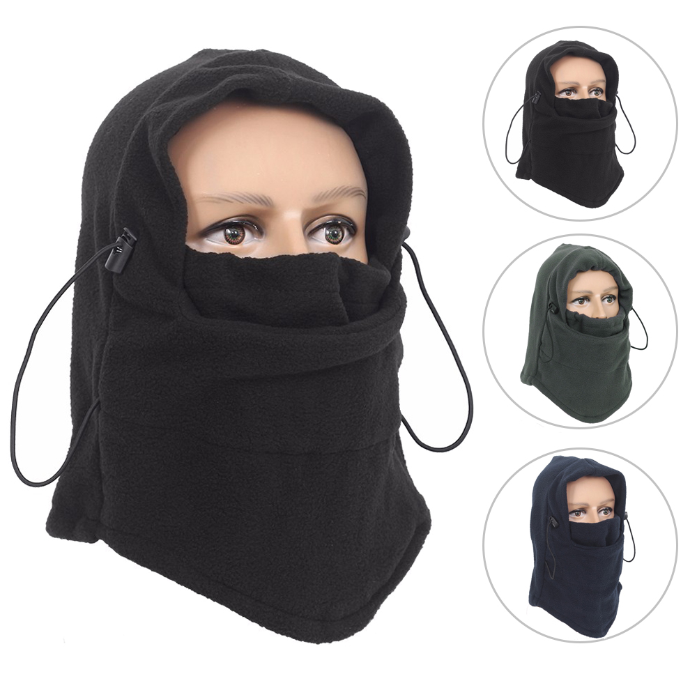 Outdoor Full Face Mask Cycling Windproof Winter Warm Hat Sca…