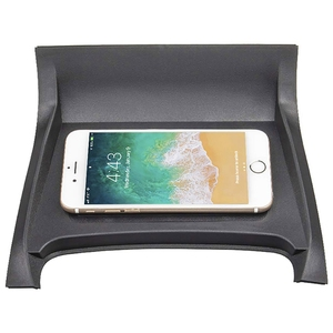 Image 4 - Car Qi Wireless Phone Charging Pad Module For Land Rover Discovery Sport 2015 2019 Fast Charging Case Plate Central Console Stor