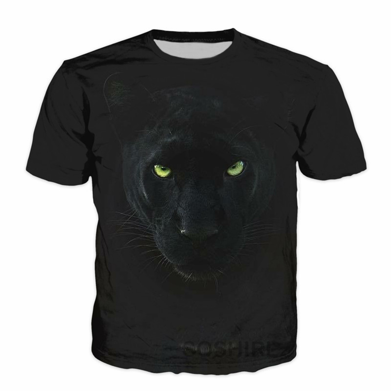Black Panther Mens T-shirt
