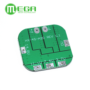 Image 2 - 4S 14.8V / 16.8V 20A peak li ion BMS PCM battery protection board bms pcm for lithium LicoO2 Limn2O4 18650 li battery