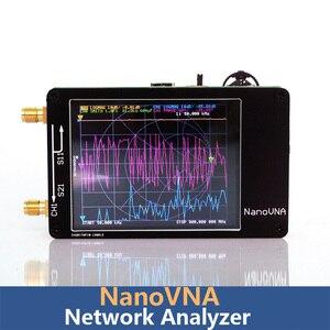 Image 2 - NanoVNA 50KHz 900MHz וקטור רשת Analyzer דיגיטלי נגיעה מסך גלים קצרים MF HF VHF UHF אנטנת מנתח עומד גל