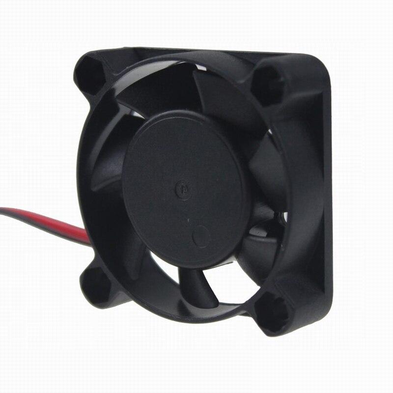 2 шт. Gdstime DC 5 в 12 В 24 в 40 мм x 40 мм x 10 мм 40 мм шарикоподшипник рукав мини маленькое охлаждение 4 см вентилятор 3d принтер охлаждающий вентилятор