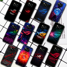 Republic Of Gamers ROG Phone Case For Xiaomi Mi 8 9 Note 10 A3 9T 10T 11 Poco x3 Lite Pro NFC Ultra black Back Luxury Cell Tpu
