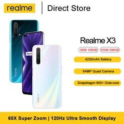 Realme X3 60X Super Zoom Mobile Phone 6.6 ''  Snapdragon™ 855+ Octa-core 32MP Dual In-display Selfie 4200mAh Smartphone