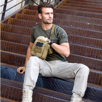 Men Tactical Molle Pouch Belt Waist Pack Bag Small Pocket Military Shoulder Pack Running Pouch Travel Camping Bags Outdoor Tool men tactical molle pouch belt waist pack bag small pocket military waist pack phone pouches outdoor running travel camping bags