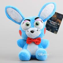 20cm Five Nights At Freddy's 4 FNAF Nightmare Bonnie Rabbit Plush Toys doll kawaii cute stuffed animals rabbit toy Children Gift(China)
