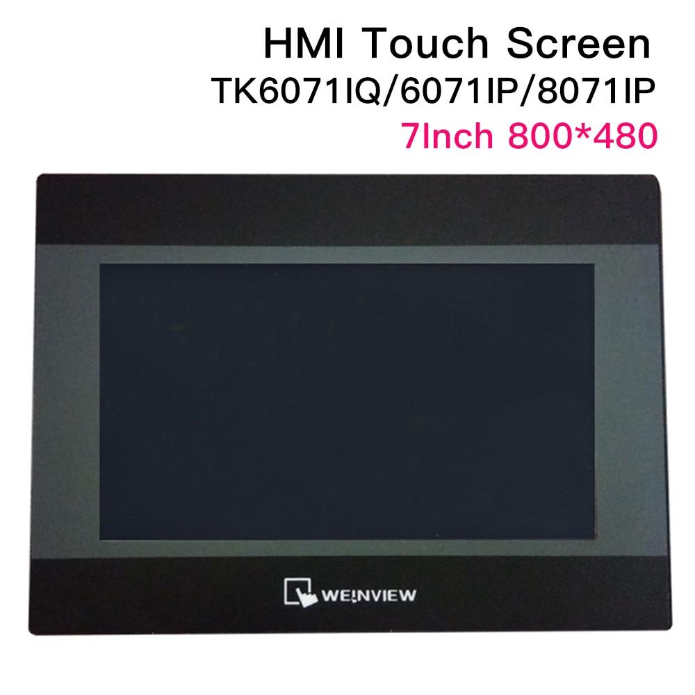 7 inch WEINVIEW/WEINTEK TK6071iQ TK6071iP TK8071iP HMI Touch Screen 800*480 USB Ethernet new Human Machine Interface