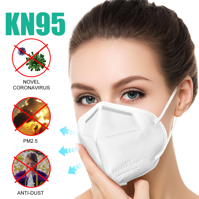 Cycling Protective Mask Anti Flu Anti Infection Face Mask Particulate Respirator PM2.5 With Safety Qualification Certification 1