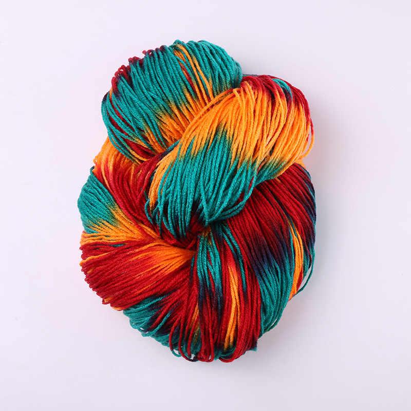 Fil de vison acrylique coloré | 250g(50g * 5 pièces