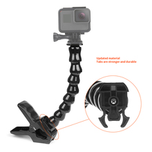 Jaws Flex Clamp Mount and Adjustable Neck for GoPro Accessories or Camera Hero1/2/3/3+/4 sj4000/5000/6000 цена