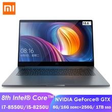 Xiaomi-ordenador portátil Pro de 15,6 pulgadas, Notebook NVIDIA GeForce GTX 1050 max-q, 16GB/8GB, DDR4, i7-8550U/i5-8250U, 1TB, SSD, para juegos y oficina