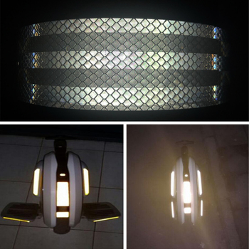 5cmx30m/Roll Car-styling Night Reflective Tape Automotive Body Motorcycle Decoration Car Sticker Warning