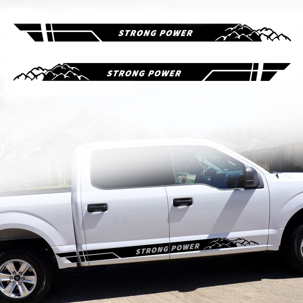 2X Multiple Color Graphics Honda Ridgeline with Wing Decal Sticker for Ridgeline