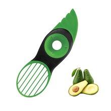 Magic Kitchen 3 in 1 Fruit Vegetable Tools Avocado Slicer Splitter Slices Accessories Cooking